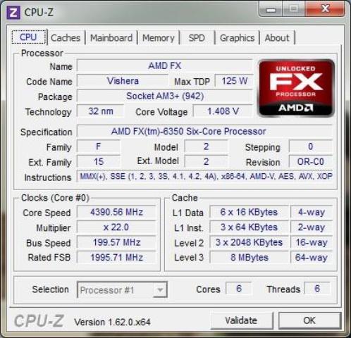 AMD FX-6350 OC