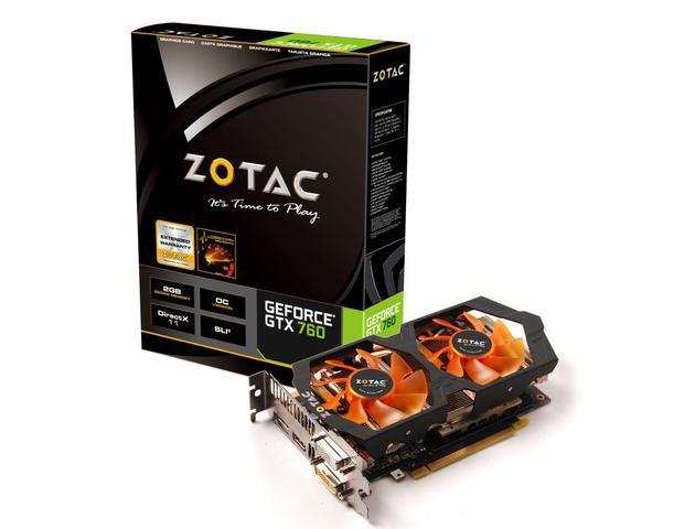 ZOTAC GeForce GTX 760 OC