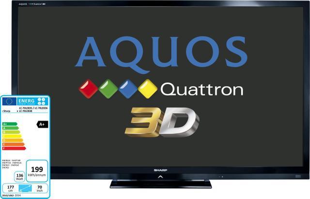 Sharp AQUOS Quattron 3D  LE835E