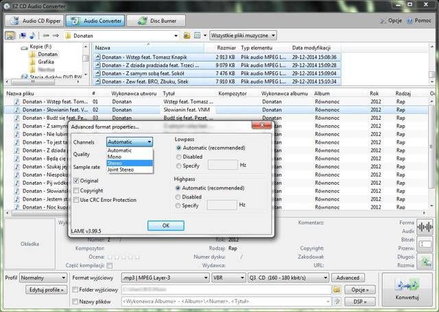 EZ CD Audio Converter 5