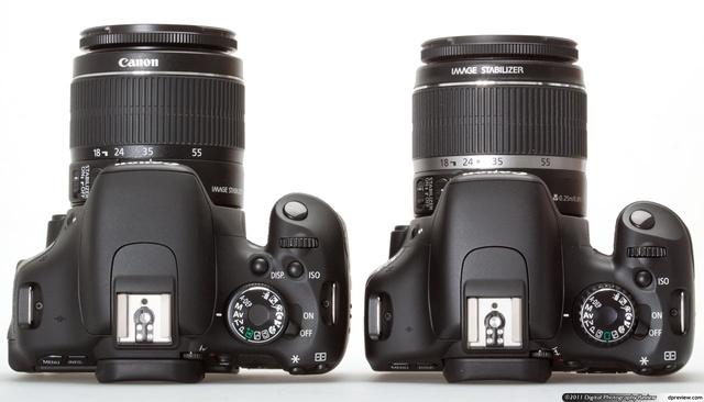 dwa aparaty od canona