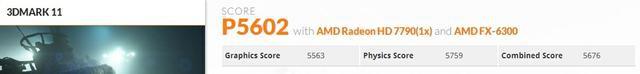 Sapphire Radeon HD7790 3dm11 fot