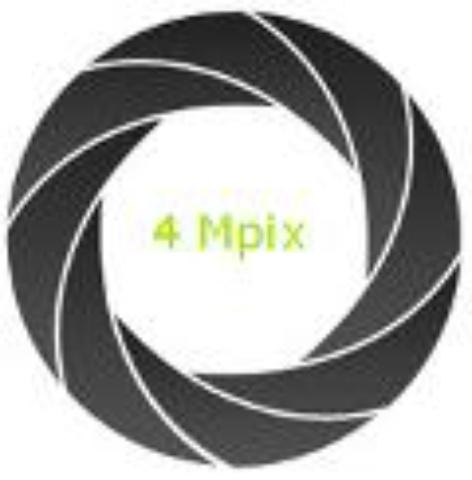 Aparat fotograficzny 4 Mpix