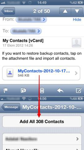 My Contacts Backup Pro fot2