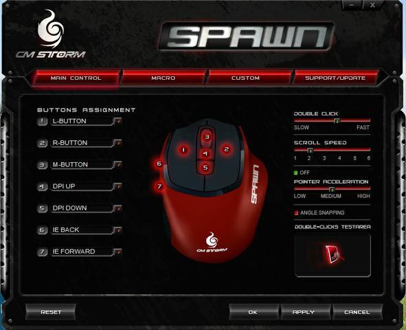CM Storm Spawn oprogramowanie 1