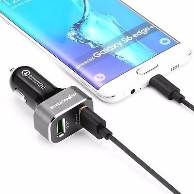 BlitzWolf BW-C6 30W Quick Charge QC 2.0