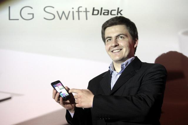 LG Swift Black