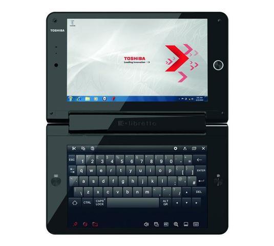 TOSHIBA LIBRETTO W100-10D U5400 2GB 62GB SSD 2 x 7