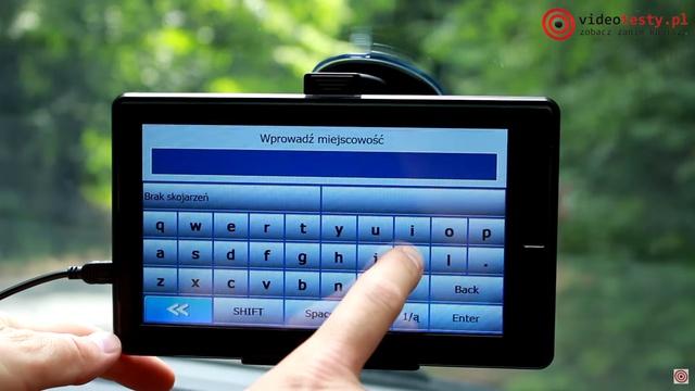 myPhone myNavi 7 - Wyświetlacz