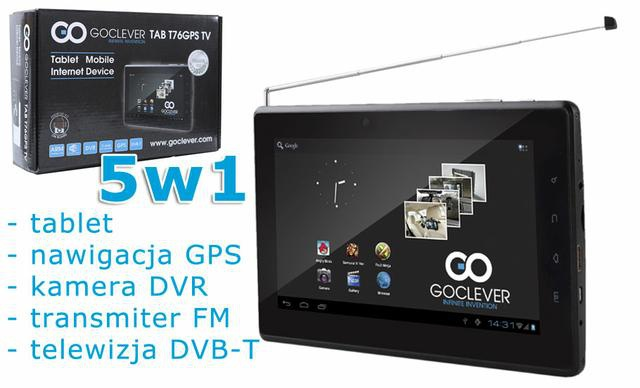 Goclever T76GPSTV 3