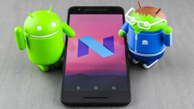 android nougat logo 2