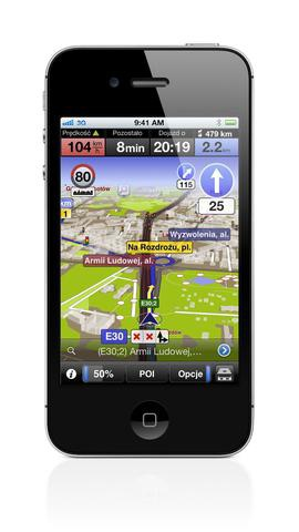 auto mapa iOS 3.2