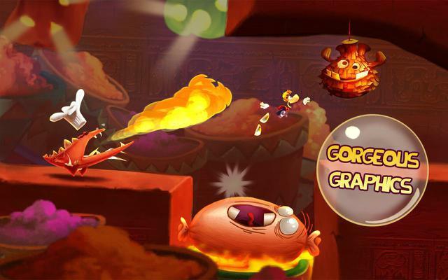 Rayman Fiesta Run fot3