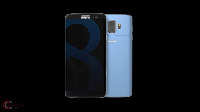 samsung galaxy s8 koncept
