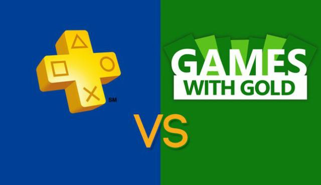 PS+ vs Xbox Live Gold