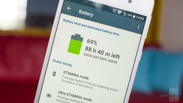 Sony Xperia E5 - bateria