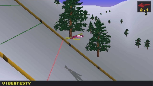 Gra Deluxe Ski Jump 2