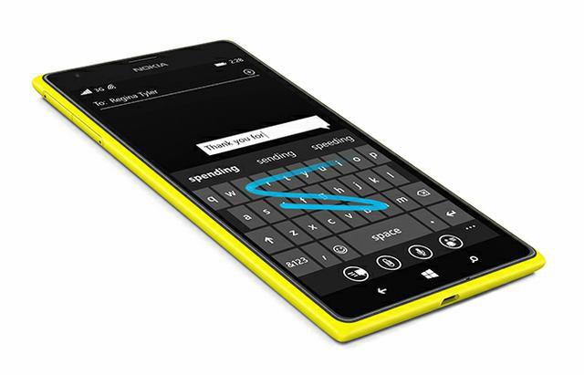 Lumia Cyan 3