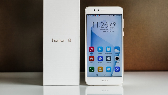 honor 8 front