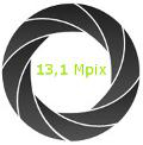 Aparat fotograficzny 13,1 Mpix
