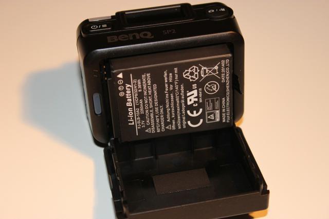 klapka z tylu bateria