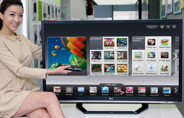 LG Smart TV w 2012 roku