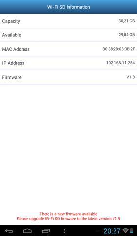 Transcend WiFi SD Card fot10