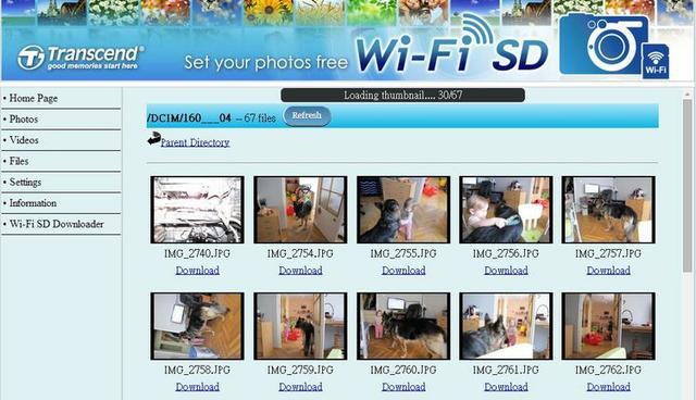 Transcend WiFi SD Card fot22