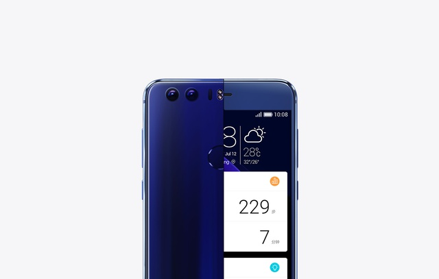 Honor 8 front i tył