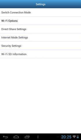 Transcend WiFi SD Card fot8