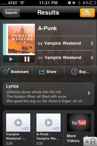 Sound Hound na Android