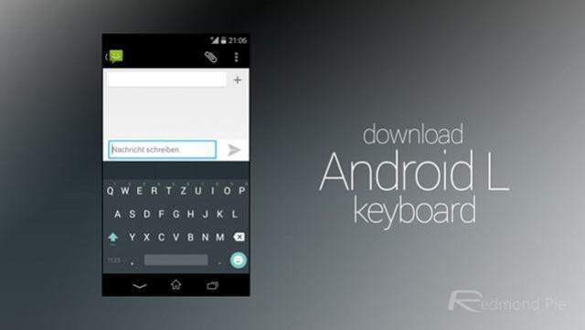 Klawiatura z Android L