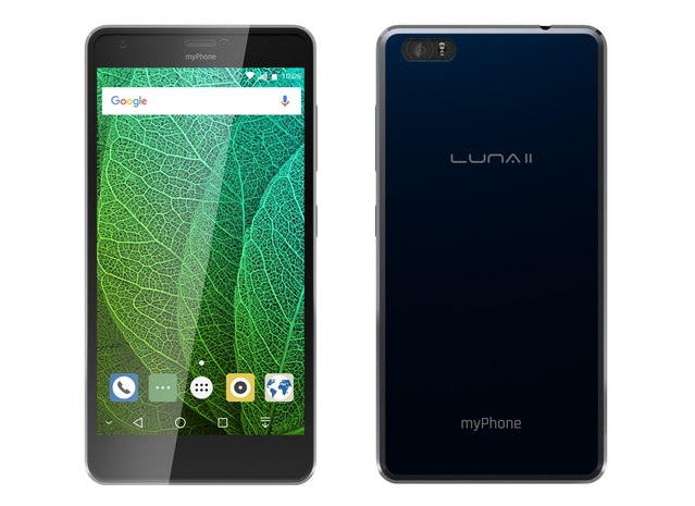 front myPhone Luna 2