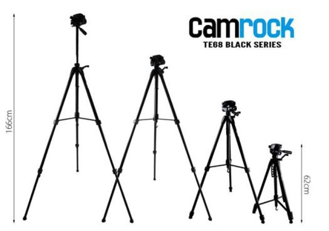 Camrock TE68 - recenzja ekonomicznego statywu