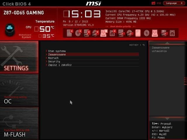 MSI Z87-GD65bios fot2