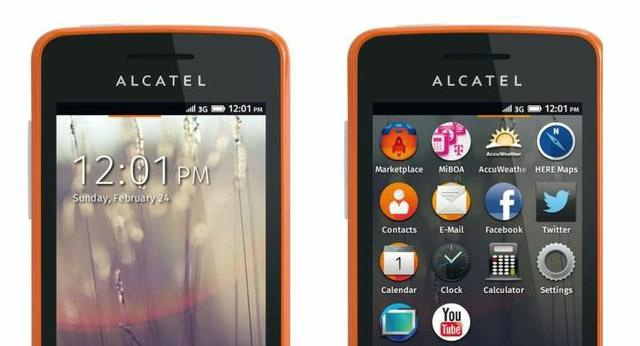 Alcatel One Touch Fire fot2
