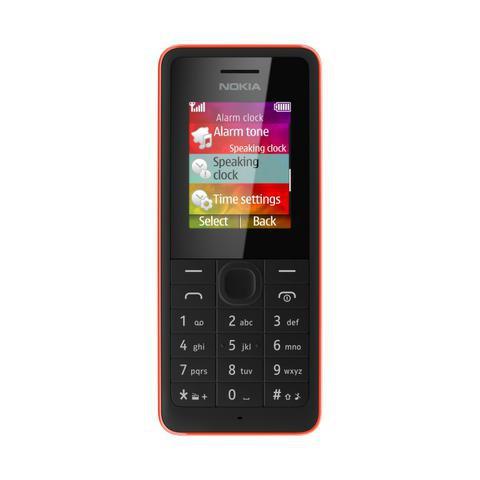 Nokia 106 i Nokia 107 fot1