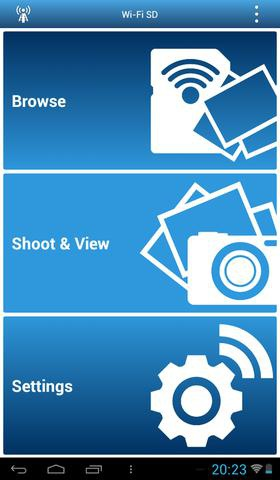Transcend WiFi SD Card fot7
