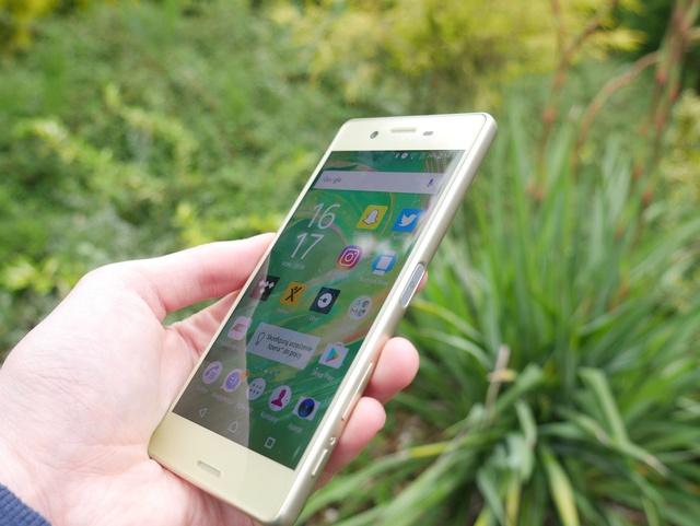 Sony Xperia X - test telefonu