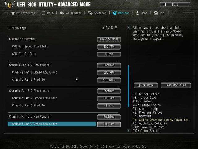 Asus Vanguard B85 bios5