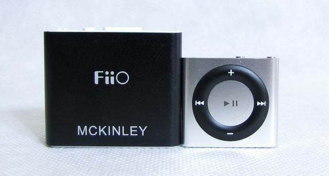 FiiO E5 and iPod Apple