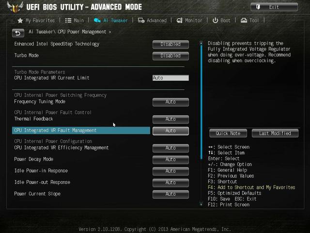 Asus Vanguard B85 bios