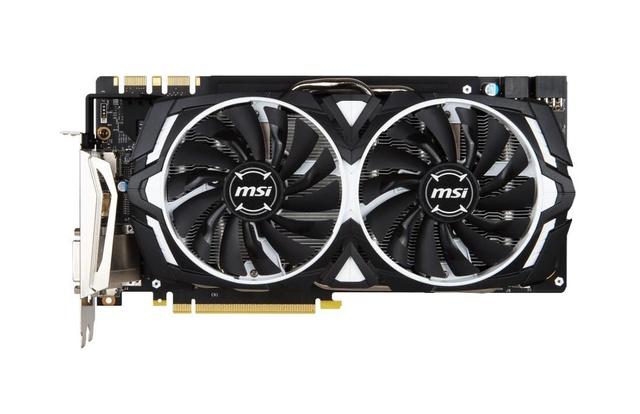 MSI GeForce® GTX 1070 ARMOR 8G OC