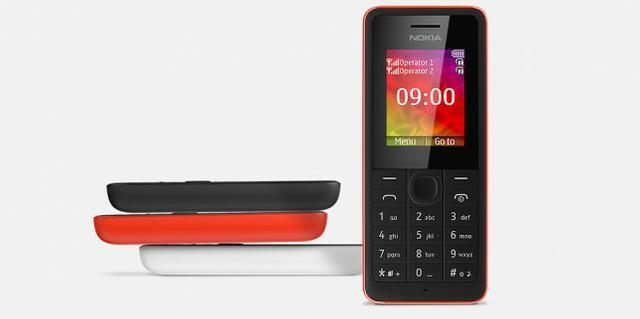 Nokia 106 i Nokia 107 fot2