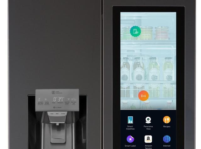 LG Smart Fridge Amazon Echo