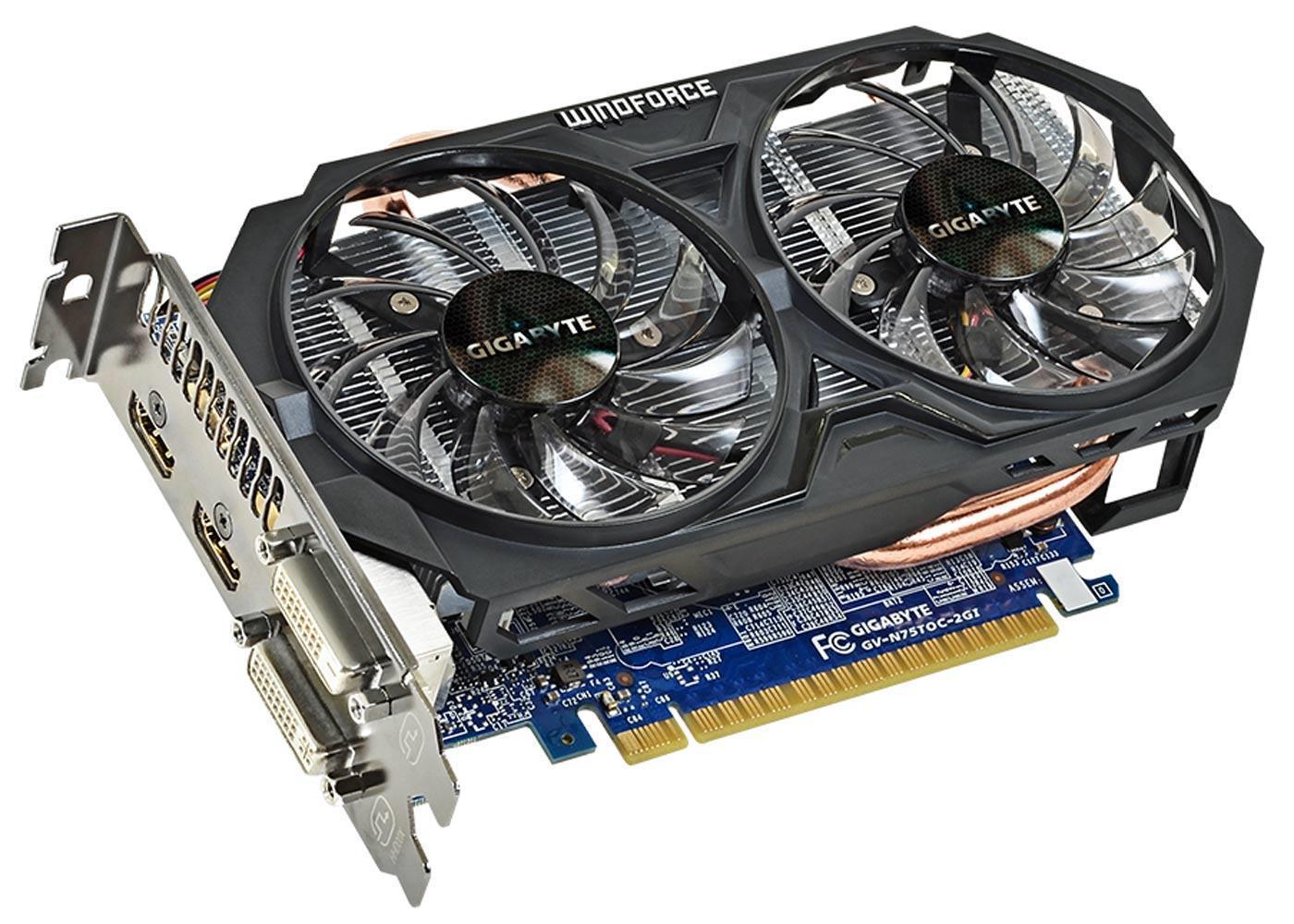 gigabyte Geforce GTX 750TI OC 2GB