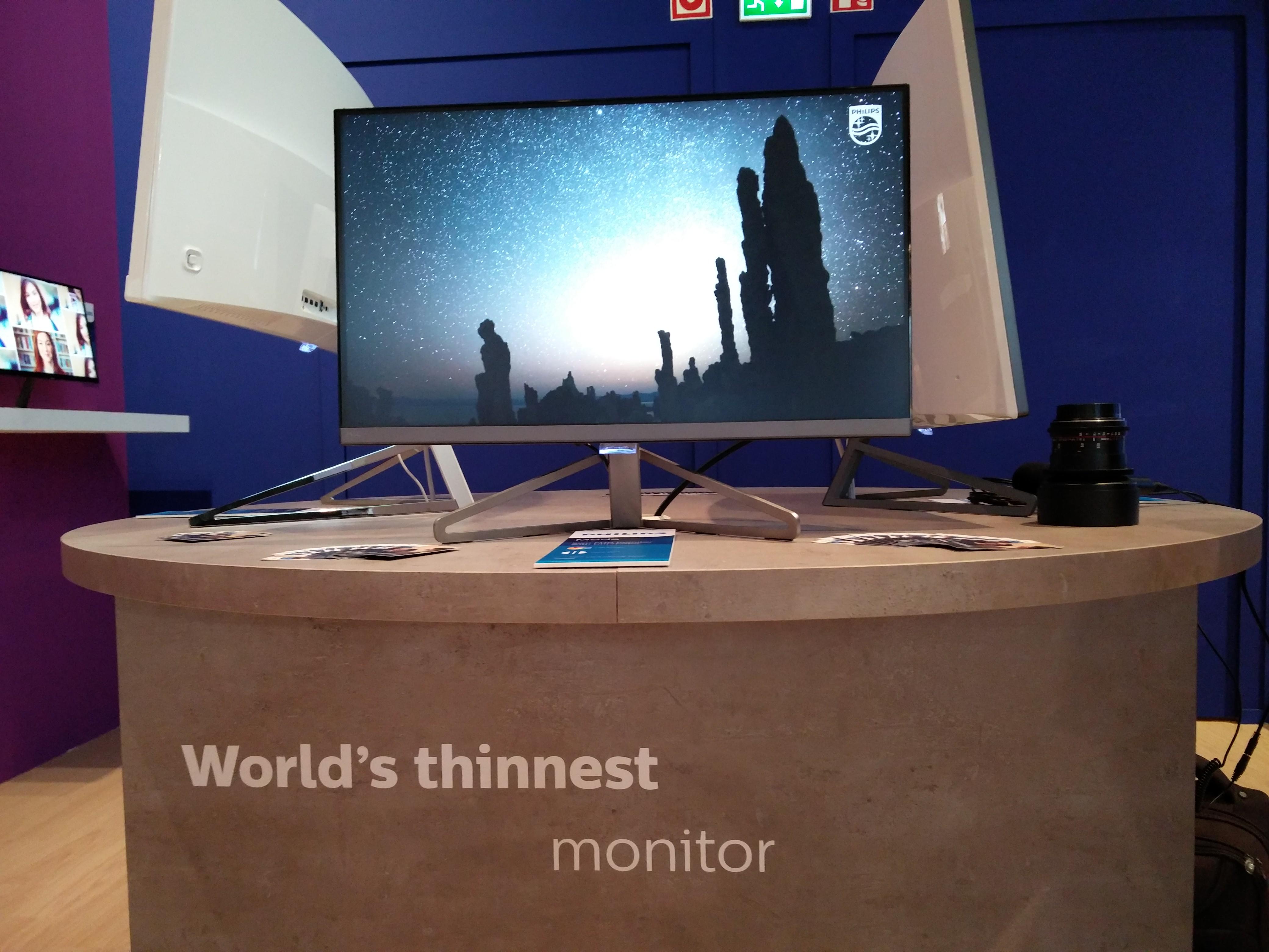 Najcieńszy na świecie monitor