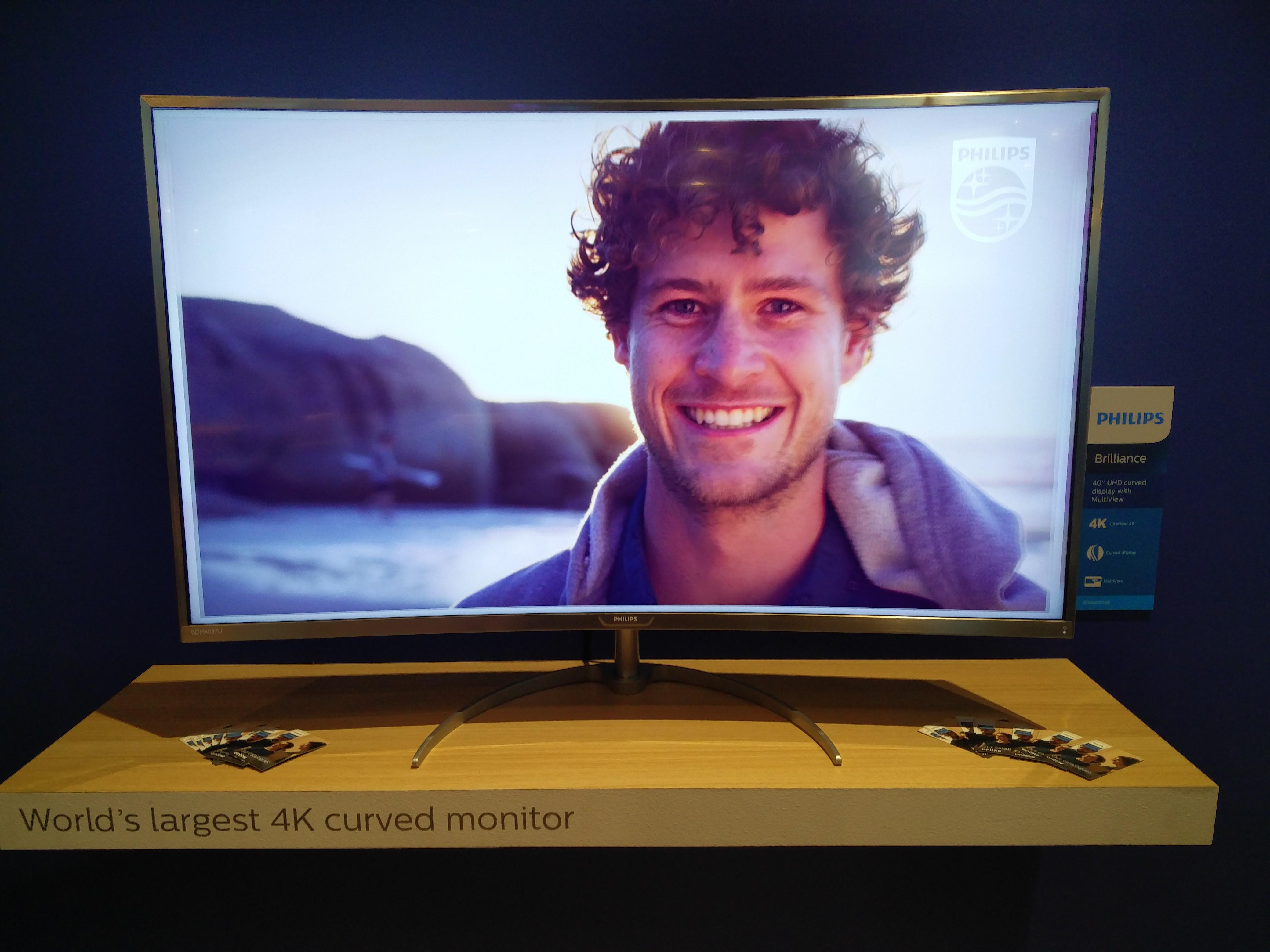 Największy zakrzywiony monitor 4K i 34-calowy 21:9 z QuadHD