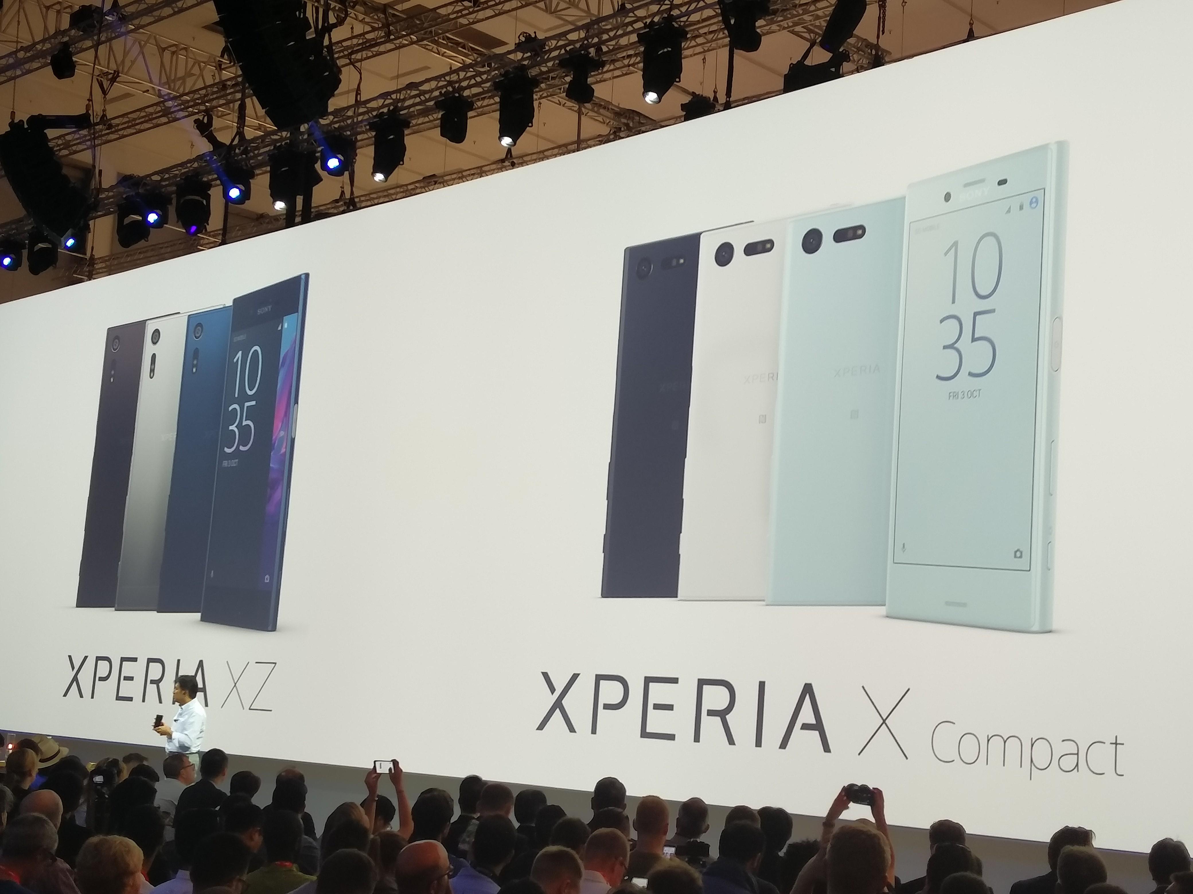 Drugim telefonem jest Xperia X compact