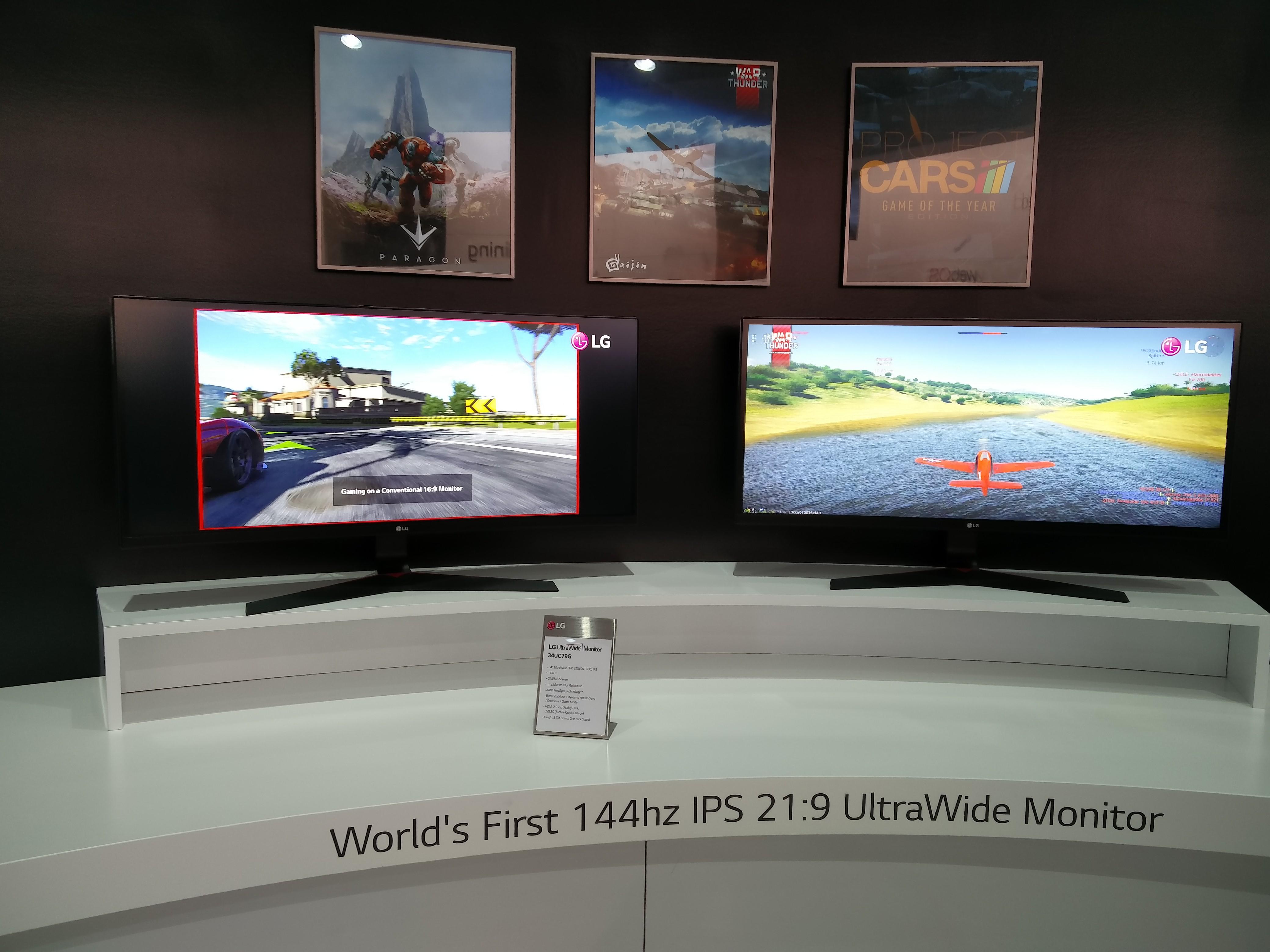 Monitory od LG